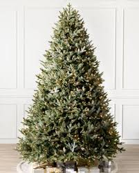 Full Width Fraser Fir Artificial Christmas Trees