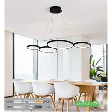 wohnzimmer le led pendelleuchte dimmbar modern