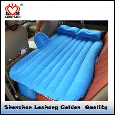 Inflatable Bed Wedge by Inflatable Flocked Travel Car Air Mattress Bed Car Bed Inflatable