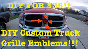 Do It Yourself Custom Grille Emblem - YouTube How To Remove Factory Badges And Decals In Ten Easy Steps Fender Outlawleds Another Set Of 9 Custom Painted Ford Oval Blems For Jason Chrome Emblems Emblemart Custom Car Truck Hotrod Status Grill Dodge Accsories 9297 Obs Ford Grille Badge 52018 F150 Oval Blackout Grey Lettering Overlay Set S3m Automotive Nameplates Badging Auto Finished My Forum Community A 643hp 2006 F250 Built For The Loving Lolly Photo Image Gallery Ford Brushed Carbon Black Charcoal Gray Billet Inc 062011 Ranger Tailgate Or Grill Blem Matte Black