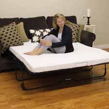 Convertible Sofa Bed Big Lots by Fresh Memory Foam Mattress Topper For Sleeper Sofa 97 With