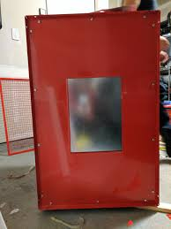 Harbor Freight Sandblast Cabinet Protective Film by Making A Cheap Chemical Fume Chamber U2014 The Half Baked Maker