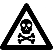 Toxic Warning Vectors s and PSD files
