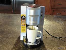 Brewing A Cup Of Coffee