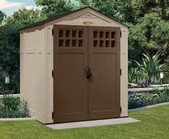 Tractor Supply Wood Storage Sheds by Suncast 6 X 5 Everett Storage Shed Walmart Com