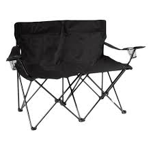 Quik Shade Max Chair by Trademark Innovation Loveseat Style Double Camp Chair With Steel