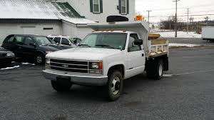 100 Pickup Truck Dump Bed 1993 CHEVROLET C 3500 4X2 52k Bed And Salt Spreader One Owner