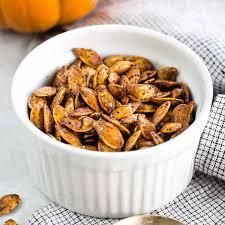 Roasted Shelled Pumpkin Seeds Recipe by How To Roast Pumpkin Seeds Step By Step Jessica Gavin