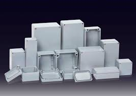coffret electrique exterieur etanche boîtier mural rectangulaire en aluminium à usage général