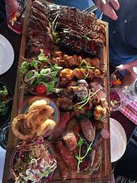 sharing meat plate picture of the breslin bar grill melbourne