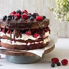 cake mit beeren