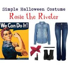 Rosie The Riveter Halloween Tutorial by Image Result For Rosie The Riveter Costume Pinterest