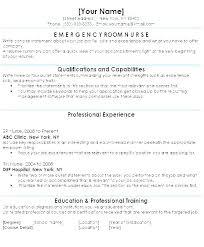 Recent Graduate Resume Objective New Nurse Examples Samples Grad