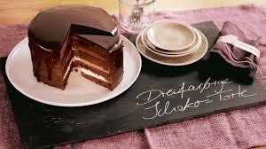 rezept dreifarbige schoko torte dr oetker