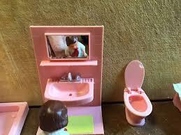 puppenstube badezimmer komplett vermutlich 70er jahre modella