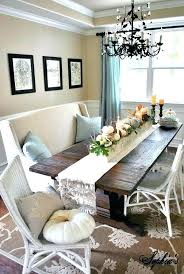 Rustic Dining Room Centerpieces Farmhouse Table Decorating Ideas