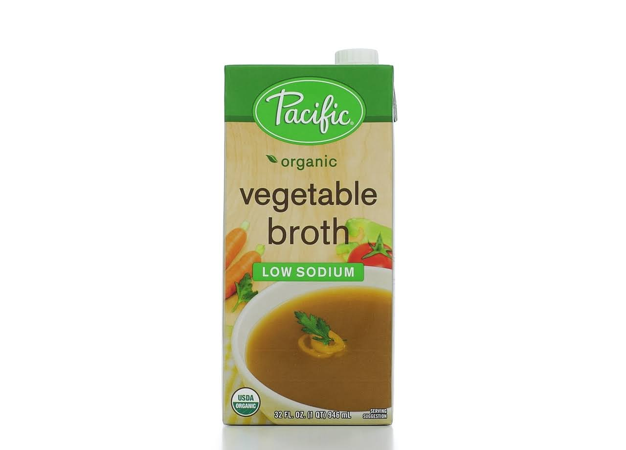 Pacific Organic Vegetable Broth - 946ml