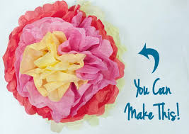 You Can Easily Make These Fast Tissue Paper Flowers