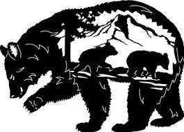 Bear Silhouette 1696471 License Personal Use
