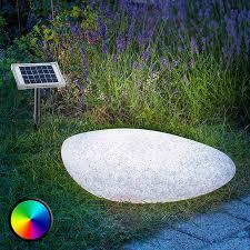 Outdoor decorative light solar LED Stone 40
