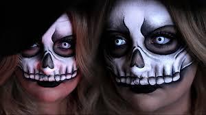 Halloween Half Mask Makeup by Voodoo Skull Mask Halloween Costume Makeup Tutorial 31 Days Of