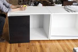 Diy Floating Desk Ikea by A Stand Up Desk Ikea Hack Kelli Anderson