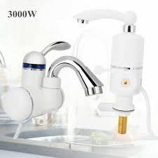 Elektrischer Wasserhahn Durchlauferhitzer 3000w Armatur Bad Küche 3000w Elektrisch Wasserhahn Sofort Heizung