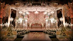Flowers Decoration Weddings Stages Tulips Event Best Pakistani Wedding Stage Flowering Rustic