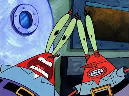 robot krabs spongebob and spongebob squarepants