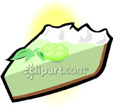 0060 0808 1112 3141 Slice of Key Lime Pie clipart image