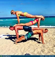 Acro Partner Yoga Taken In Miami United States By Jeffrey Bent