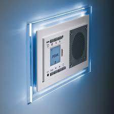 radio salle de bain peha radio lecteur mp3 encastrable audiopoint design avec
