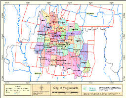 Map Of The Municipality Yogyakarta