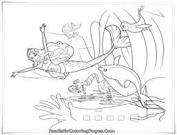 Barbie In A Mermaid Tale Printable Girl Coloring Sheet Realistic