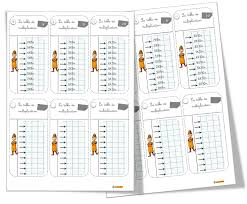 tests tables de multiplication bout de gomme