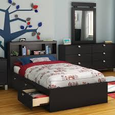 spark bookcase storage platform bed hayneedle