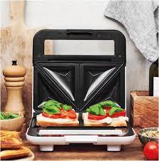 gastroback 42443 design sandwichmaker weiß schwarz efa käufl