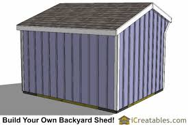 Saltbox Shed Plans 10x12 by 10x12 Run In Shed Plans Horse Barn Horse Run In Shed Plans