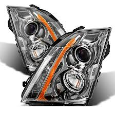 2008 2014 cadillac cts halogen model only replacement projector