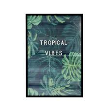 Letter Board With 3 Posters Tropical Dresz To Expresz