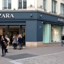 siege de zara zara s clothing 88 rue rivoli beaubourg