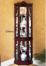 the simple stores corner china cabinet with 5 shelves by the