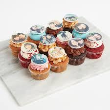 Mixed Edible Photo Cupcakes