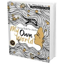 My Own World Coloring Book Download Travel Size For Adults
