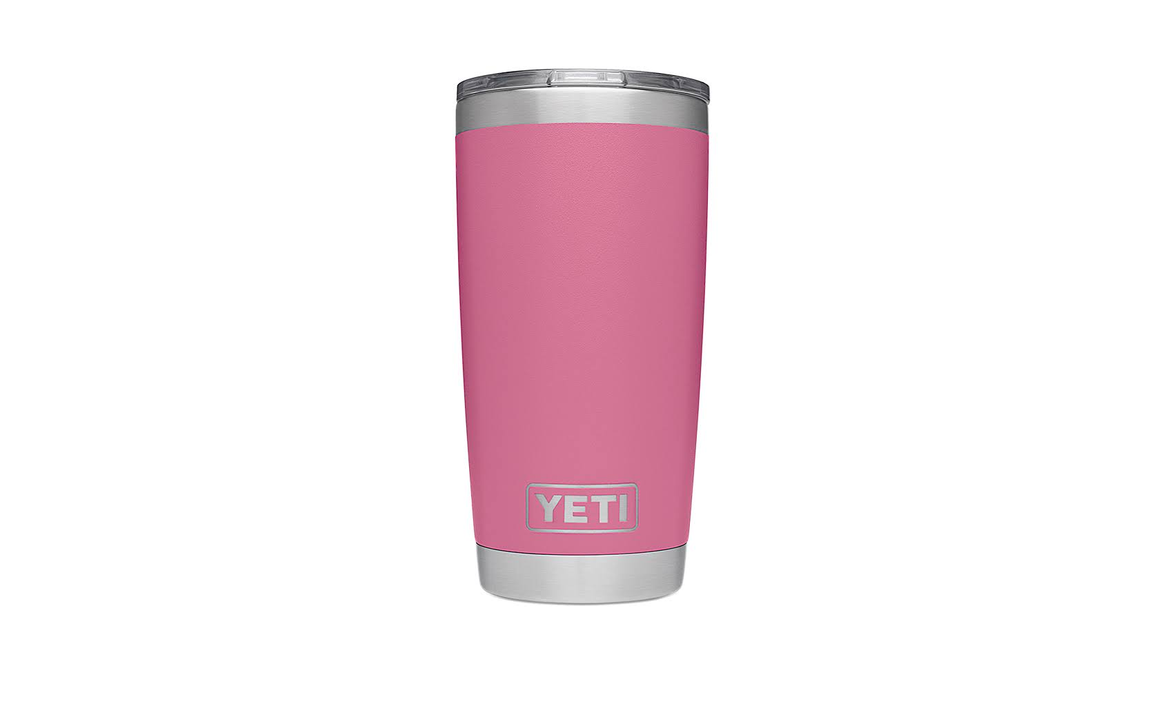 YETI Rambler Stainless Steel Vacuum Insulated Tumbler with MagSlider Lid, Harbor Pink, 20 oz