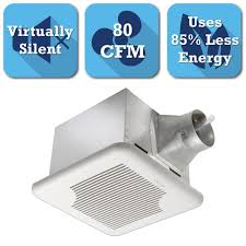 Install Bathroom Vent No Attic Access by Broan Invent Series 110 Cfm Ceiling Bathroom Exhaust Fan A110