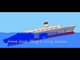 Ship Sinking Simulator Play Free by Antonia Graza Sinks In Sinking Simulator Youtube Bateau