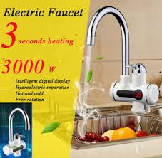 Elektrischer Wasserhahn Durchlauferhitzer 3000w Armatur Elektrisch Led Wasserhahn Sofort Heizung Durchlauferhitzer