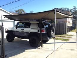 Show Me Your Awnings - Page 7 - Toyota FJ Cruiser Forum Toyota Fj Cruiser Modified Coreys 2007 Built For Expedtionoverland Daily Official Awning Thread 4runner Forum Largest Into The Wild Build Page 3 Expedition Portal Post The Latest Photo Of Your And You Could Win A Free Tshirt Fab Fours 0712 Winch Bumper W No Grille Guard Fj07a17511 Gobi Arb Support Brackets Jeep Wrangler Jk Jku 8 Mount To Suit Oem Rack Bajarack Australia 5 Overland Bound Mileage With Full Eo2 Roof Rack Kit Show Me Awnings 2