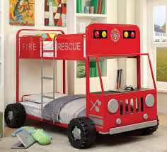 Hokku Designs Fire Engine Twin Bunk Bed | Wayfair.ca Decoration Fire Truck Crib Bedding Set Lambs Ivy 9 Piece 13 Truck Bedding Twin Flannel Fire Crib Sheet Baby Bedroom Sets For Girls Pink And Gray Awesome Sheet Sheets Dijizz Shop Boys Theme 4piece Standard Firetruck Brown Dinosaur Baby Boy 9pc Nursery Collection Firefighter Decor Boy Room Vintage Plus Engine Together With Geenny Gray Buck Deer Skin Minky White Arrow Fxfull